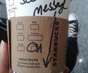 starbucks, coffee, and Hot image
