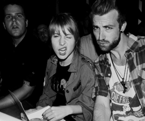 paramore, jeremy davis, and hayley williams image