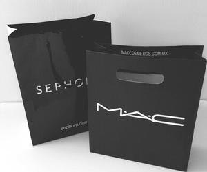 mac, sephora, and black image