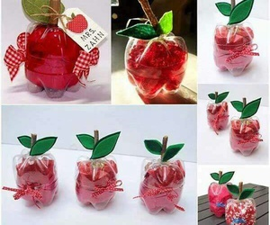 diy, apple, and bottle image