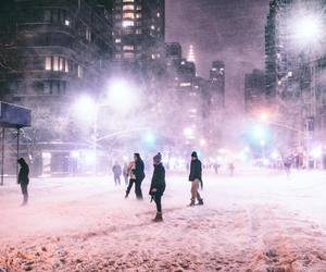 city, life, and new york image