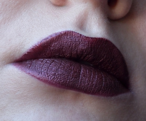 berry, dark, and lips image