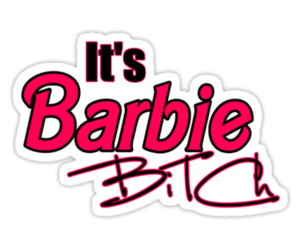 barbie, bitch, and pink image