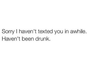 drunk, text, and quotes image