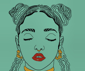 grunge and fka twigs image
