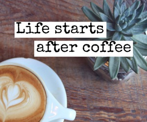 alternative, text, and coffee image