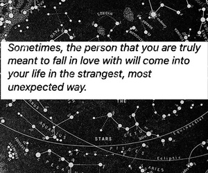 black&white, destiny, and fall in love image