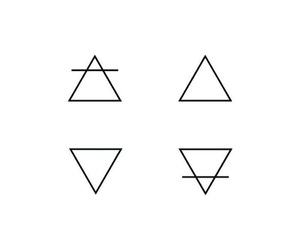 elements, simple, and triangle image