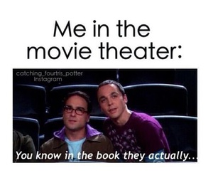 book, movie, and funny image
