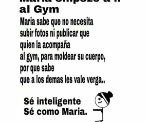gym, inteligente, and maria image