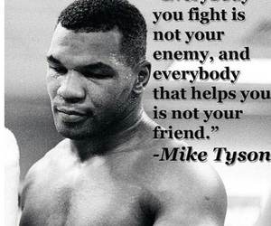 mike tyson, friends, and enemy image