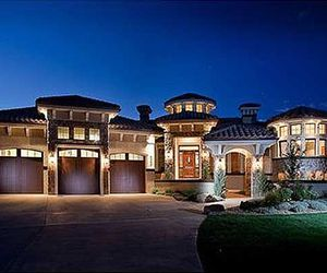 dream house, house, and rich image