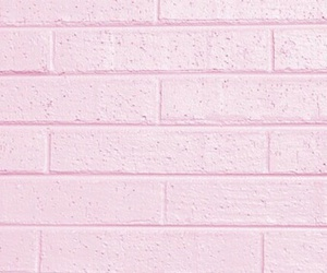 pink, wall, and brick image