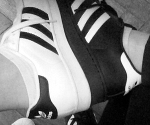 adidas, superstar, and a image