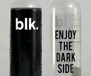 black, blk, and water image