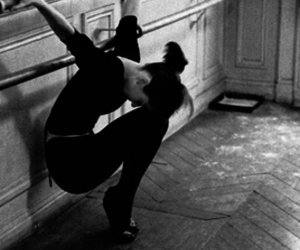 audrey hepburn, black and white, and ballet image