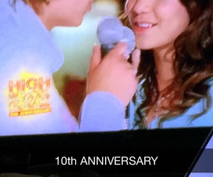 anniversary, high school musical, and HSM image