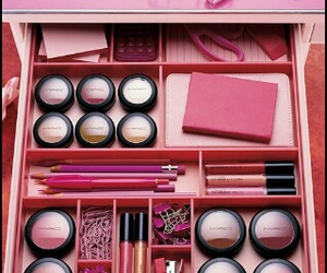 pink, mac, and makeup image