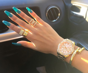 accessories, bracelets, and nail image