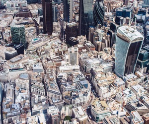 city, london, and new york city image