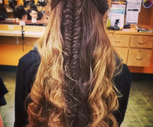 braid, curls, and inspiration image