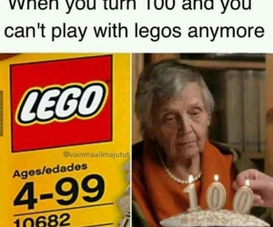 age, funny, and legos image