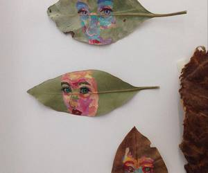 art, nature, and leaves image