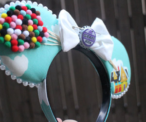 disneyland, etsy, and minnie mouse image