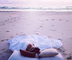 beach, beautiful, and good night image