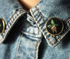 botany, buttons, and clothes image