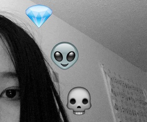 alien, asian, and black image