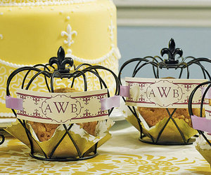centerpiece, crown, and wedding image