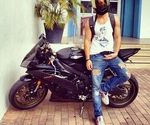 boy, motorcycle, and motorbike image