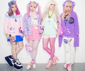 pink, kawaii, and asian image