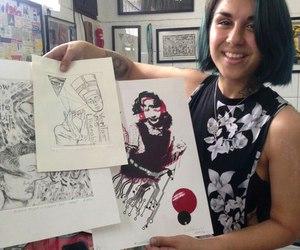 art, yasmineyousaf, and krewella image