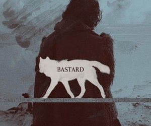 jon snow, bastard, and got image