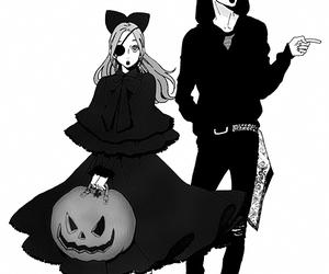 manga, anime, and Halloween image