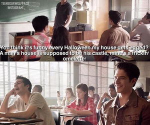 funny, teen wolf, and coach image