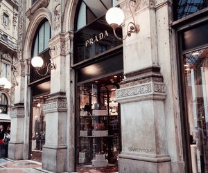 Prada, luxury, and architecture image