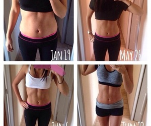 fit, workout, and abs image