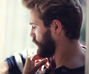 beard, guy, and Hot image