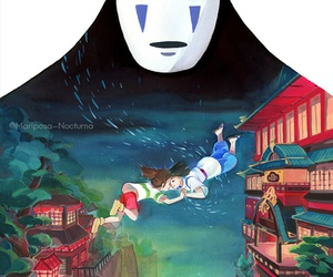 spirited away, anime, and art image