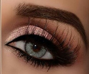 beautiful, eyeliner, and woman image