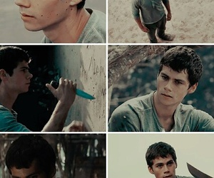 dylan, movie, and maze runner image