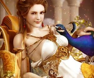 hera and goddess image