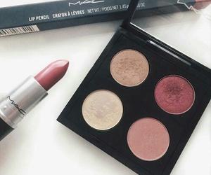 makeup, lipstick, and beauty image