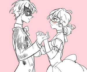 anime girl, Chat Noir, and cute boy image