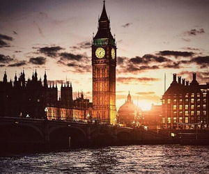 adventure, london, and travel image