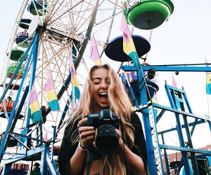camera, carnival, and cool image