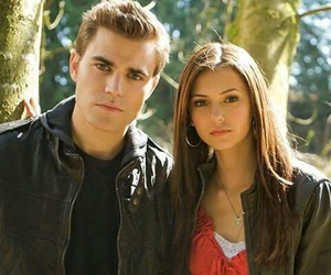 tvd, Nina Dobrev, and the vampire diaries image